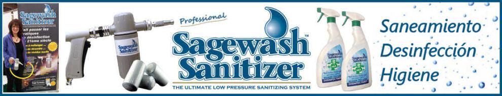 Toda la información sobre la gama de productos Sagewash Sanitizer