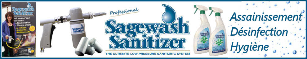 Toutes les infos sur les produits Sagewash Sanitizer