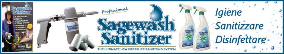 Tutte le informazioni sulla gamma Sagewash Sanitizer