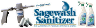 Find all the practical information on the Sagewash Sanitizer range
